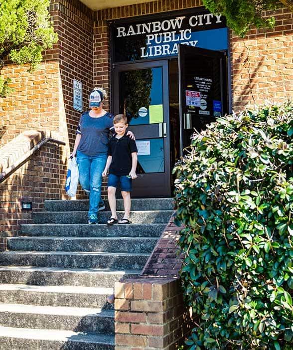 Rainbow City - Public Library